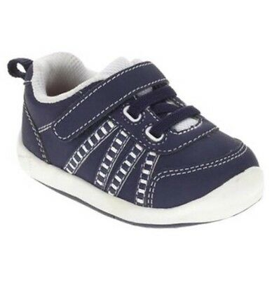Healthtex Toddler Classic  Boys Navy Blue Sneakers Size 3 Med