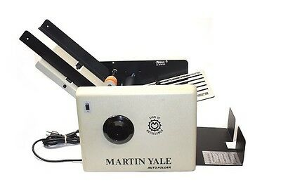 Martin Yale Model 1501 Auto Folder Automatic Paper Folding Machine