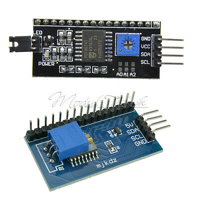 IIC I2C TWI SP​​I Serial Interface Board Module Port For Arduino 1602LCD 2004LCD