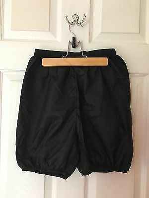 Body Wrappers Unisex Adult Dance Ripstop/Trash Bag Shorts Size M