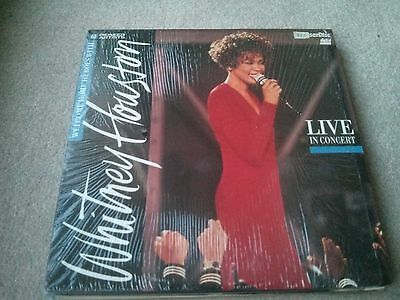 Whitney Houston ‎– Live In Concert: Welcome Home Heroes With... LASERDISC