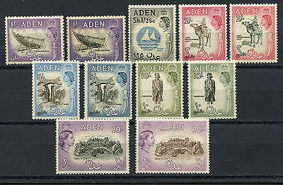 Adén, Stamps Ii, Elizabeth Ii $ Local Motives, 1953/1959