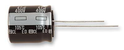Electrolytic Capacitor, 47 µF, 450 V, ED Series, ± 20%, Radial Leaded, 18 mm