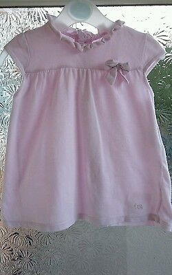 French Connection Pink Dress Age 6/9 Months. VGC***