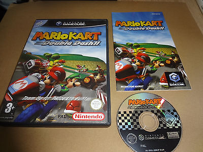 Mario Kart Double Dash Game For Nintendo Gamecube Complete Pal Great Condition