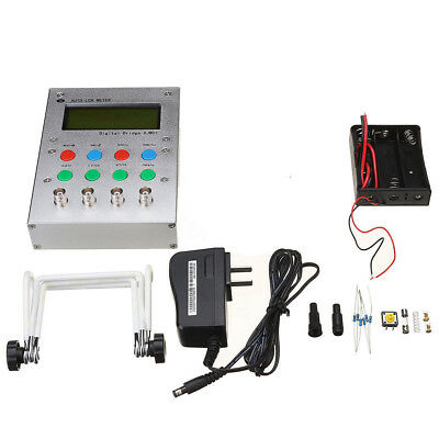 New Digital Bridge Auto LCR ESR Meter Tester 0.3% W/ Kelvin Clip