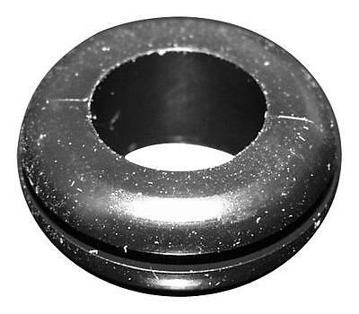 10 X Grommet, Round, Open, 14.2 mm, TPR (Thermoplastic Rubber), 17.5 mm, 1.6 mm