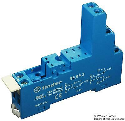 RELAY SOCKET DIN RAIL 250V 10A BLUE - 95.95.3 (Fnl)