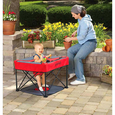 Portable Baby Seat Activity Travel Play Folding Table Child Outdoor Indoor Eat
