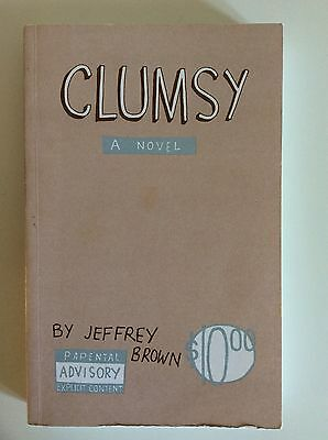Clumsy: A Novel by Jeffrey Brown comic graphic novel cute funny romantic