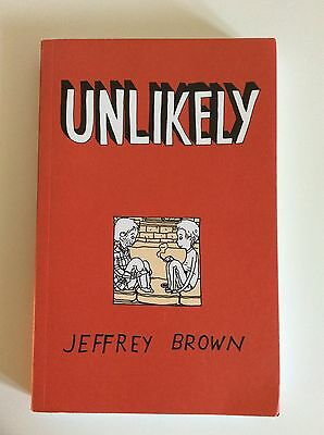 Unlikely Or How I Lost My Virginity By Jeffrey Brown comic book graphic novel