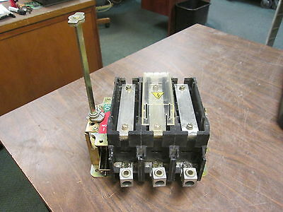 Allen-Bradley Non-Fusible Disconnect Switch 194R-NN200P3 200A 600V 3P Used