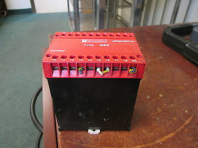 Telemechanique Type GEZ Preventa Relay GEZ24VACDC 24V Response Time: 20ms Used