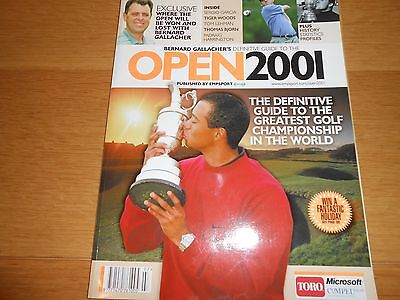 Golf The Open 2001 Guide