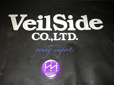 Veilside 5 Speed Shift Pattern Purple Toyota Nissan Mazda Skyline GTR Supra JDM