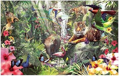 Asian Rainforest - 1000 Piece Animal Jigsaw Puzzle By SunsOut - New & Sealed