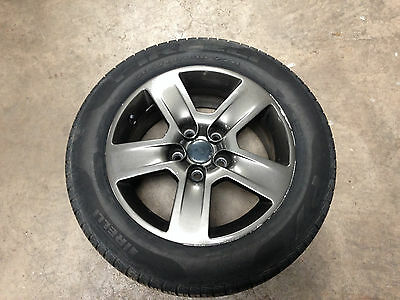 Audi A3 8P standard 16'' alloy wheel with tyre 8E0601025B ref 2