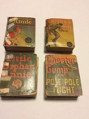 The Big Little Book Collection 1930's Lot Of 4