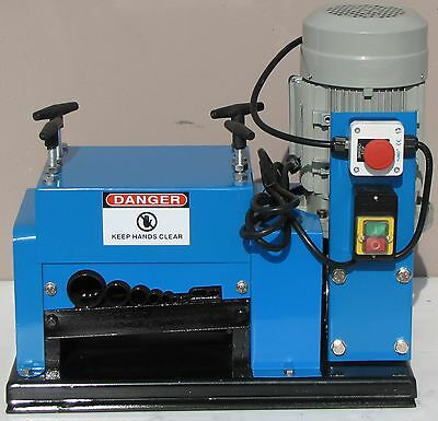 New Wire Stripping Machine 2hp 110V Cable Copper Stripper Recycler Scrap QJ-009