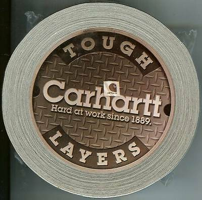 Carhartt Silver Duct Tape with Carhartt Logo promo item