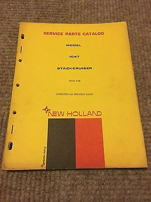 New Holland 1047 Stack Cruiser Service Parts Catalog
