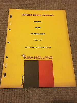 New Holland 1030 Stackliner Service Parts Catalog