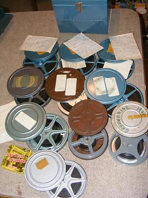 8mm Film Home Movie Lot 50's 60's Mixed Family Vacation Europe LasVagas San Fran