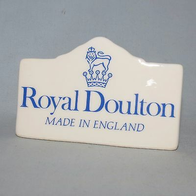 Royal Doulton Collectors Display Tile Plaque MADE IN ENGLAND