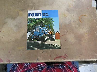 Introduction FORD 9600 tractor brochure