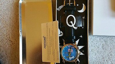 Quisp Watch Advertising Cereal Quaker Oats Promotional Original Tin -NEW in box-