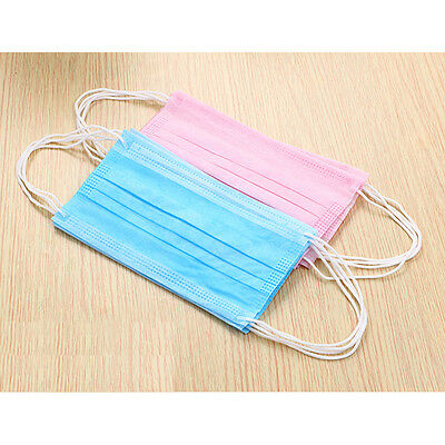 20Pcs/lot Disposable Face Mask Anti-Dust Anti-smog Ear Loop Mouth Mask 3-Layers