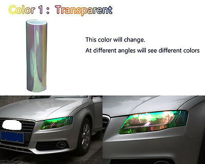 200x30cm Chameleon Colorful Clear Autos Headlight Tail Fog Light Vinyl Tint Film
