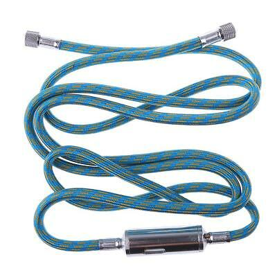 """1.8m Braided Airbrush Hose Compressor Kit 1/8""""-1/8"""" with Oil/Water Separator"""