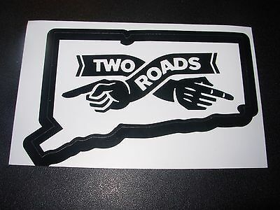 TWO ROADS BREWING road 2 ruin evil twin Logo BOTTLE OPENER craft beer brewery