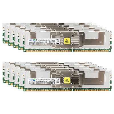 New Samsung 64GB KIT (8x8GB) PC2-5300F DDR2 667MHz ECC FBDIMM Server Memory RAM