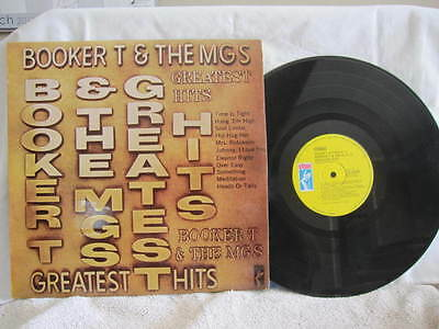 "Booker T And The Mgs Greatest Hits Vinyl Record 12"" Lp"