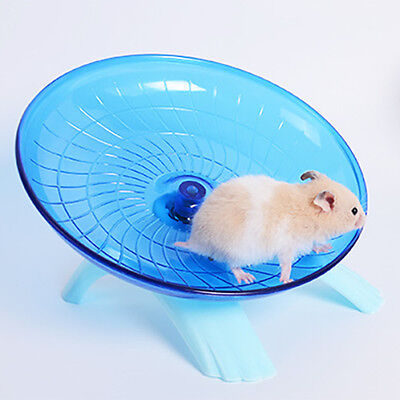 Exercise Wheel Small Pets Hamsters Running Disc Flying Saucer 7.09 inch/18cm