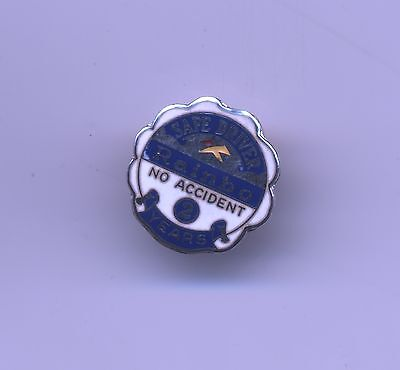 Rainbo Bread 2 year Safe Driver Sterling employee Service Enameled Pin