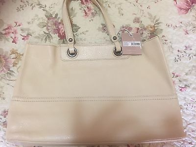 Oroton Leather Entourage Tote Brand New With Tags