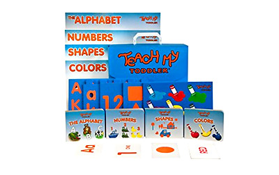 Learning Kit Teach My Toddler Educational and Development Materials 68 Piece Kit