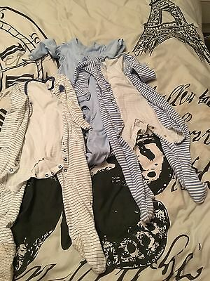 Variety Of Boys Sleepsuits 18-24 Months