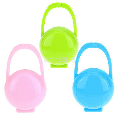 Newest Baby Mam Soother Container Pacifier Dummy Travel Storage Box Case Holder