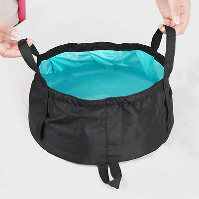 Portable 8.5L 12L Folding Washbasin Bucket Wash Basin Foldable Camping Water Pot