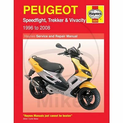 MANUALE OFFICINA HAYNES 3920 IN INGLESE PEUGEOT 50 Speedfight 2 LC 2001-2009