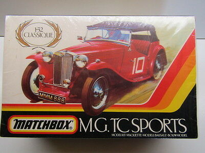 Matchbox Vintage 1/32 Scale MG TC Sports Model Kit - New & Sealed