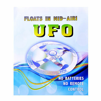 Amazing Kids Mystery UFO Floating Flying Disk Magic Creative Trick Saucer Toy