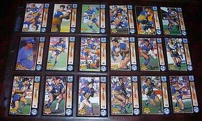 PARRAMATTA EELS Full set of 18 Cards ~ 1994 Series 1 & 2~ Rugby League
