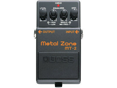 BOSS MT2 Effetto Metal Zone distortion