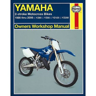 Manual Haynes for 1987 Yamaha YZ 125 T (2HG) (2T)
