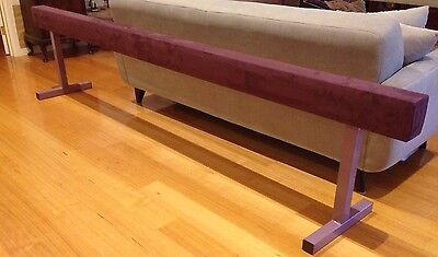Raised Gymnastics Beam 650 Mm High